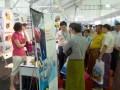 2013年11月赴第二届缅甸国际食品饮料加工、包装设备及橡塑胶机械展