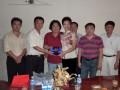 2010年本站与柬埔寨贸促会联合举行:柬中供需见面会,并赴柬埔寨政府商贸洽谈
