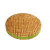柏运达热卖修复刀痕硅胶包边圆形加厚健康抗菌竹切菜砧板粘板