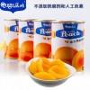 糖水黄桃罐头 鲜黄桃制成 口感酸甜 425g*4罐