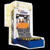 龙门箱式合模机系列   三维制图及有限元分析