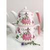 CERAMIC DOUBLE TEA POT