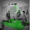 投影仪  可触碰  可用身体触碰  进行儿童游戏