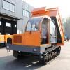 定制4-16吨矿安认证运输车 履带运输车 履带自卸车