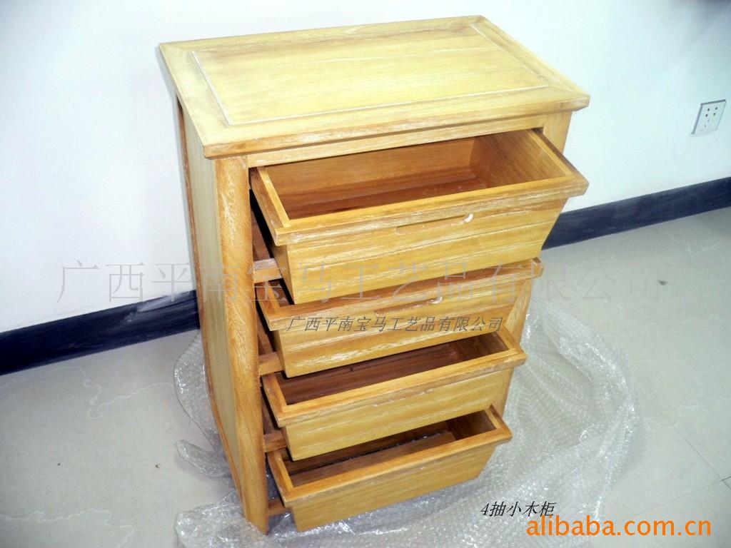 特价纯木制小储物柜-手工艺品信息